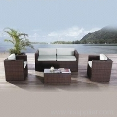 Wicker furniture sofa from hartsun