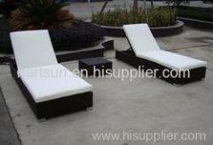 garden rattan lounge