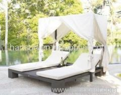 PE garden patio chaise chairs