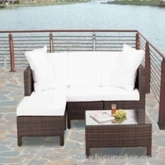 Garden synthetic sofa set