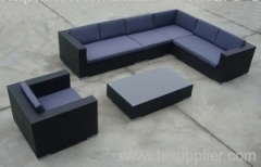 PE rattan furniture hartsun sofa