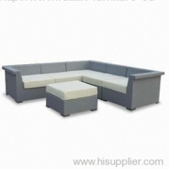 PE rattan sofa furniture