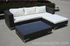 Outdoor rattan wicker furniture stainless steel
