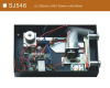 Electronic card safe lock system