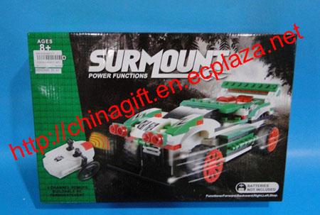 4 Channel DIY Lego Surmount Remote Control Car