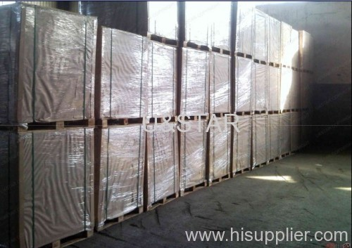 300gsm one side coated duplex board grey back mill