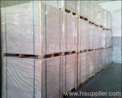 350gsm one side coated duplex board grey back factory