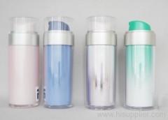 arylic bottles, lotion bottles, cosmetic bottles, airless bottles