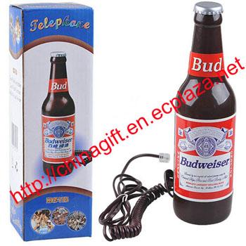 Budweiser Bottle Corded phone