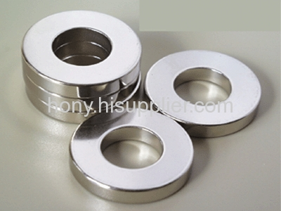 Ring sintered NdFeB magnets