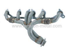 exhaust header for jeep