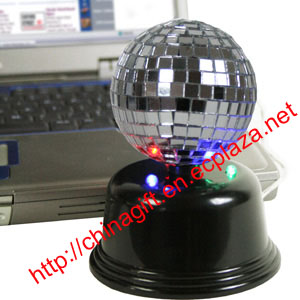 .USB Mirror Disco Ball