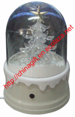 USB snowing christmas tree