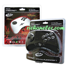 PS3 2.4G wireless Streetpad controller