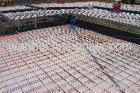 Galvanized Welded floor heating mesh panel