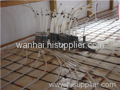 galvanized floor warming welded mesh panel