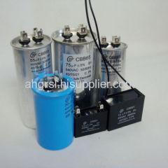 dual run capacitor