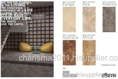 glazed full body porcelain tile