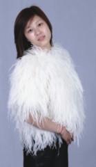 Ostrich Feather Shawl