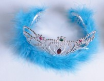 Acrylic Feather Crown