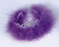 Decorative Feather Crown