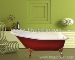 Cast Iron Slipper Clawfoot Tub