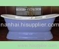 Cast Iron Double Ended Pedestal Tub