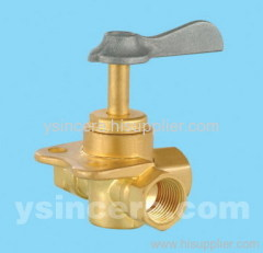 angle forged valve