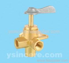 aluminium handle angle valve
