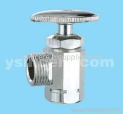 brass angle valve plastic handle