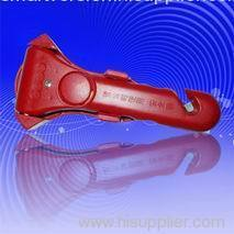 Safety hammer with alarm function