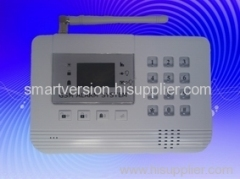 GSM alarm sytsem with LCD display