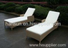outdoor wicker sun chair