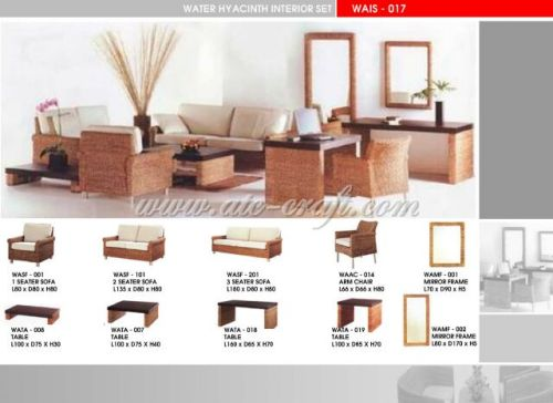 Fine Water Hyacinth Sofa Set Wais 017 Manufacturer From Vietnam Ncnpc Chair Design For Home Ncnpcorg