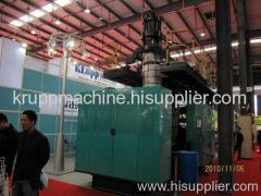 HDPE extrusion blow molding machine