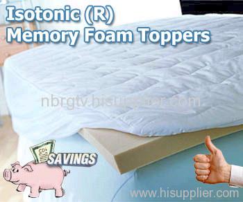 memory foam mattress topper