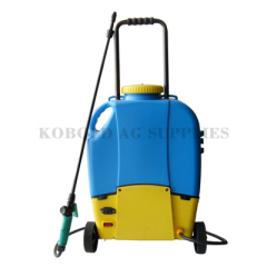 16L electric sprayer with wheel