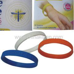 Silicone Mosquito anti wristband