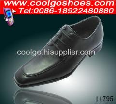 PU upper children dress shoes