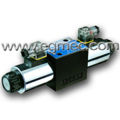 Cetop5 Rexroth 4WE10F, 4WE10L, 4WE10M, 4WE10P, 4WE10Q, 4WE10R, 4WE10T, 4WE10U Solenoid Operated Directional Valve