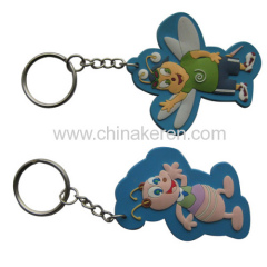 cheap soft pvc keychain for promotional gifts