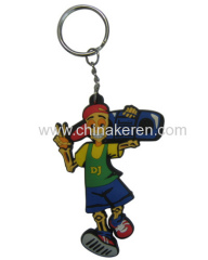 Custom soft pvc keychain for promotional gift