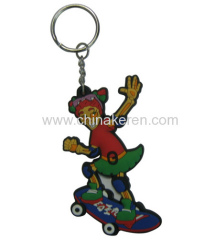 soft PVC Cartoon Keychains