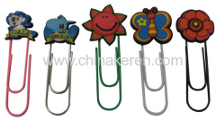 2012 Hot Selling Soft pvc Bookmarks