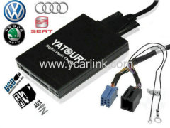 DMC USB SD adapter interface for vw audi skoda seat Concert Chorus Symphony MCD MFD RNS Sound2 Beta T4 Gamma 5 Monsoon