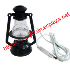 USB Mini color changing Hurricane lamp
