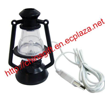 USB Mini color changing Hurricane lamp