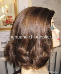 kosher wigs straight style with bounce at end