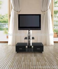 Tempered Glass Plasma TV Stand