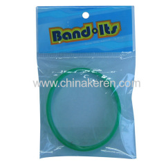 silicone bracelet OPP Bag packing